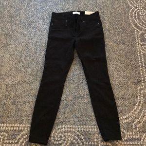 Loft black legging jeans NWT